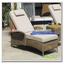 Audu Europe Classical Style Rattan Garden Deck Chair