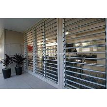 Fenêtre de verrière en verre trempé en aluminium anti-effraction sans couture