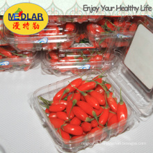 Medlar Brc ISO 9001 Kosher Dried Goji Berry