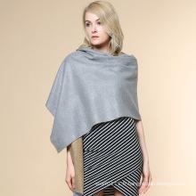 Châle chaud tricoté d'hiver de Madame Fashion acrylique (YKY4522)