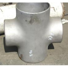 ASTM A234 Wpb WPC Flansch Fitting Kreuz