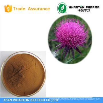 Natural Milk Thistle P.E.40%-80% Silymarin UV/HPLC