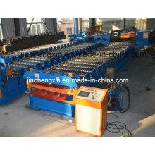 Doppel-Deck Rollenformmaschine mit hydraulischem Schneidgerät