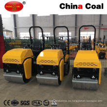 Equipo de construcción Two Wheels Mini Road Roller