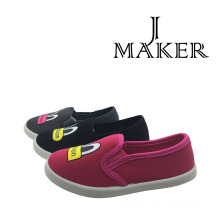 Fashion Asian Girls Canvas Sneaker (JM2002-B&S)
