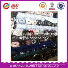 tela de la prenda 100% tela de la franela de algodón