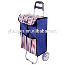 Foldable wholesale shopping trolley for sale