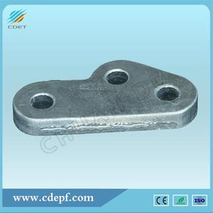 Towing Plate For Overhead Transmission Line