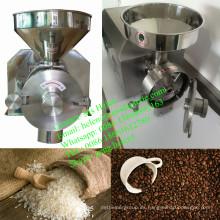 Pequeña máquina de molino de grano de café, molino de trigo, molino de arroz