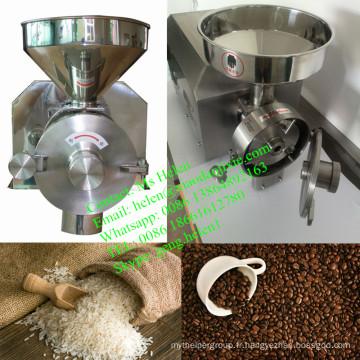Machine de broyeur de petits grains de café, moulin à farine, moulin à riz