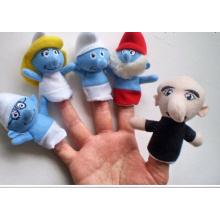 Brinquedos das crianças, brinquedo de dedo plástico