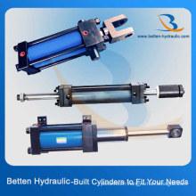 Cylindre hydraulique Cylindre hydraulique à double effet Cylindre hydraulique à simple effet