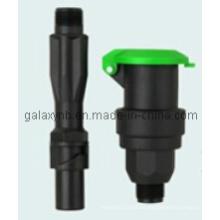 Válvula de acoplamiento rápido de plástico de alta resistencia