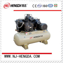 Low pressure silent auto air compressor with air tank