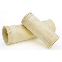 Bolsas de filtro de fieltro de aguja recubiertas de compuesto de fibra de vidrio