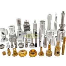 Precision turned parts machining brass and stainless steel