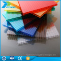 Good price 12mm multiwall frosted fire proof polycarbonate sheet
