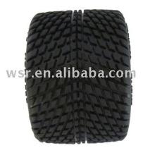 Voiture jouet en caoutchouc roues avec OEM service-A092