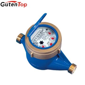 LB Guten top DN20 Output Class B dry type brass Multi jet water meter