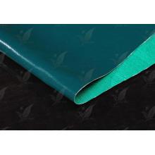 China Fábrica de silicona recubierta de tela de fibra de vidrio un lado recubierto