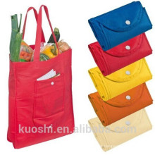 saco de compras não tecido do saco dos atacadistas