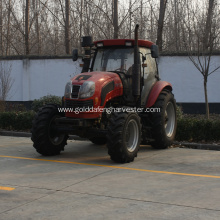 Best Quality for 150Hp Wheeled Tractor,Agricultural Equipment Wheeled Tractor Manufacturer in China Loader backhoe mower plough trailer lasher supply to Serbia Factories