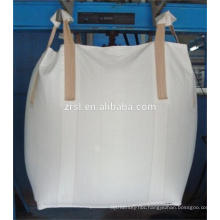 Container bag packing iron ore,bulk bag,U type over locking sewing,high UV treated