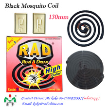 130 milímetros Rad Hot Sale China Mosquito Killer Coil