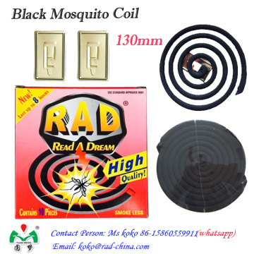 130m m Rad Venta caliente China Mosquito Killer Coil