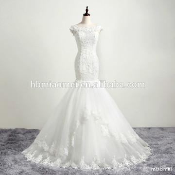 Braut Meerjungfrau Kleid Hochzeitskleid in China muslimischen Hochzeitskleid gemacht