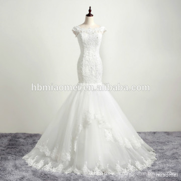 Bridal mermaid gown wedding dress made in China muslim wedding dress