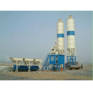 Small Central Mix  Concrete Batch Plant