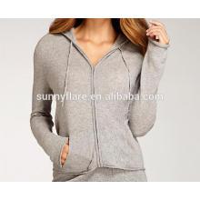 Classic Women 100% Cashmere Coat Sweaterr