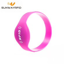 Дешевая цена S50 Closed Type Silicone Rfid Wristbands