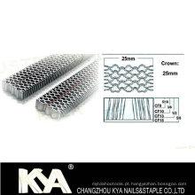 CF Quatro agulhas onduladas para mobiliário