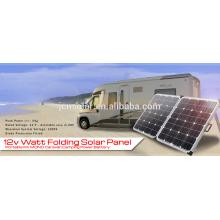 Preço novo e barato 12V 120w folding solar kit plegable