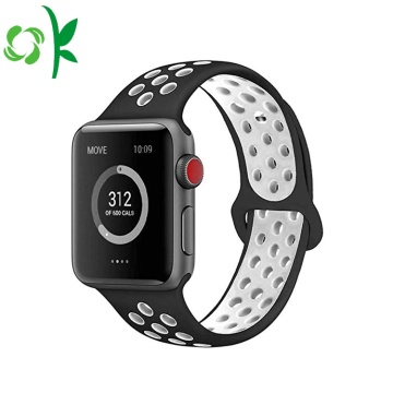 Çift Renkli Yeni Apple Watch Band Silikon 42mm / 38mm