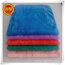 70% polyester 30% polyamide coral fleece microfiber towel, dual plush towel ,kitchen towel