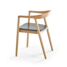 Cadeiras de jantar de madeira modernas para a mobília home