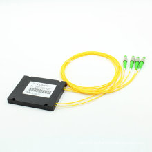 Acoplador óptico de la fibra 1X3 con el empaquetado de la caja del ABS
