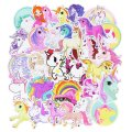 UNICORN WATERPROOF VINYL STICKERS-0