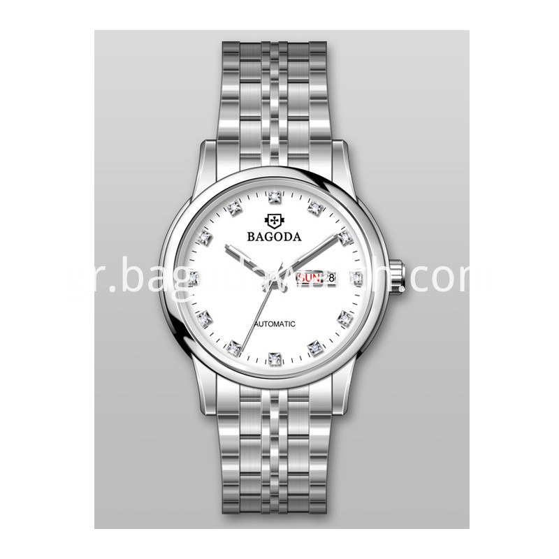 Silver Stainless Steel Watch