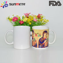 FREESUB Heat Transfer Printed White Mug