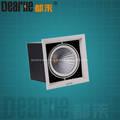 6W LED bean container light 3000-6000k hole 125x125mm COB LED AC90-260V