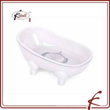 Plato de jabón de cerámica al por mayor de la mejor calidad