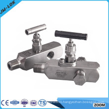stainless steel multi-port gauge valve