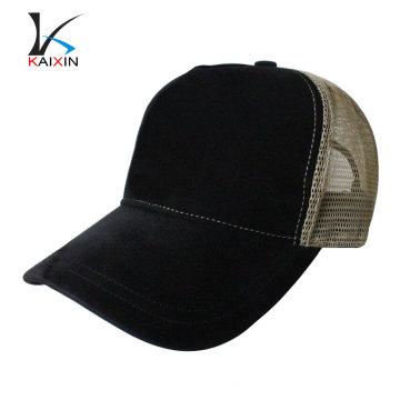 sombreros y gorras personalizados gorra de camionero de ante en blanco llanura