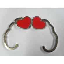 Accesorios plegables del bolso de la forma del corazón (F2006A)