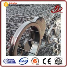 Centrale électrique Cages à baguettes en acier inoxydable