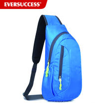 Sac à dos d'épaule en plein air, Sports de plein air Sling Bag Pack poitrine avec bandoulière réglable pour la randonnée à vélo Camping Voyage M